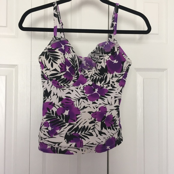 Catalina Other - Catalina purple swimsuit tank top